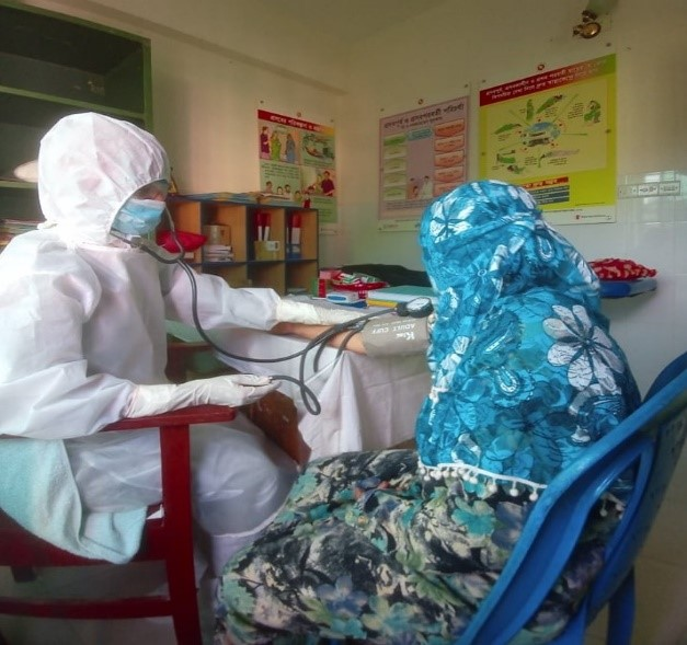 MaMoni Stories during COVID: Hosneara Aktar (Midwife)